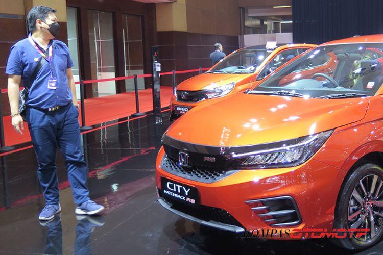 Honda City Hatchback di IIMS Hybrid 2021