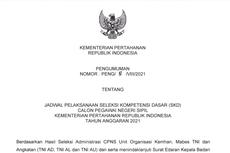 Link Jadwal, Nama Peserta, dan Lokasi SKD CPNS 2021 Kementerian Pertahanan
