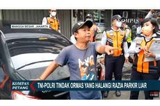 Tertibkan Mobil Parkir Liar di Sawah Besar, Petugas Dihalangi Anggota Ormas