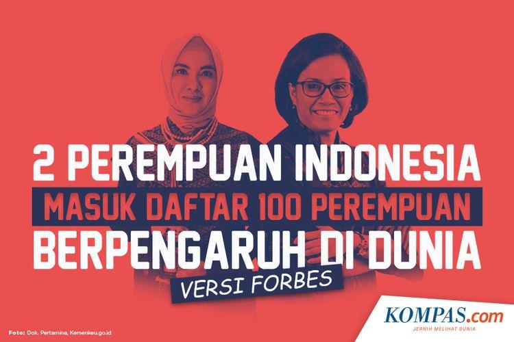 2 Perempuan Indonesia Masuk Daftar 100 Perempuan Berpengaruh di Dunia Versi Forbes