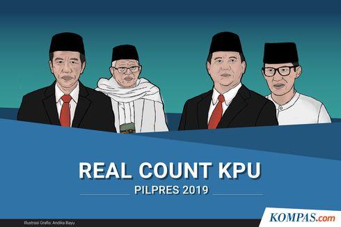 Situng KPU di Kalbar Data Masuk 88,5 Persen, Jokowi-Maruf Ungguli Prabowo-Sandi