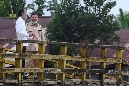 Setahun Jokowi-Ma'ruf: Menhan Prabowo dan Proyek