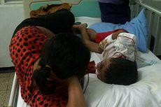 Sandi, Bocah Penderita Tumor Mata itu Meninggal Dunia
