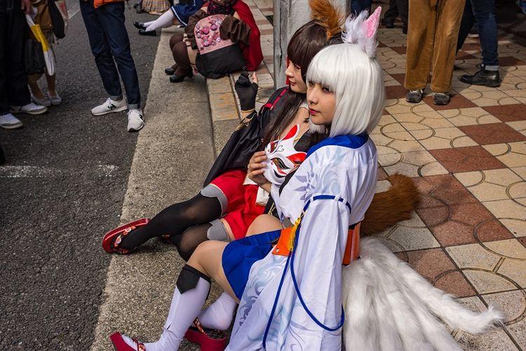 Cosplayer Nipponbashi Street Festa.