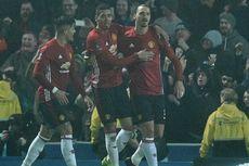 Zlatan Ibrahimovic Antar Man United ke Perempat Final Piala FA