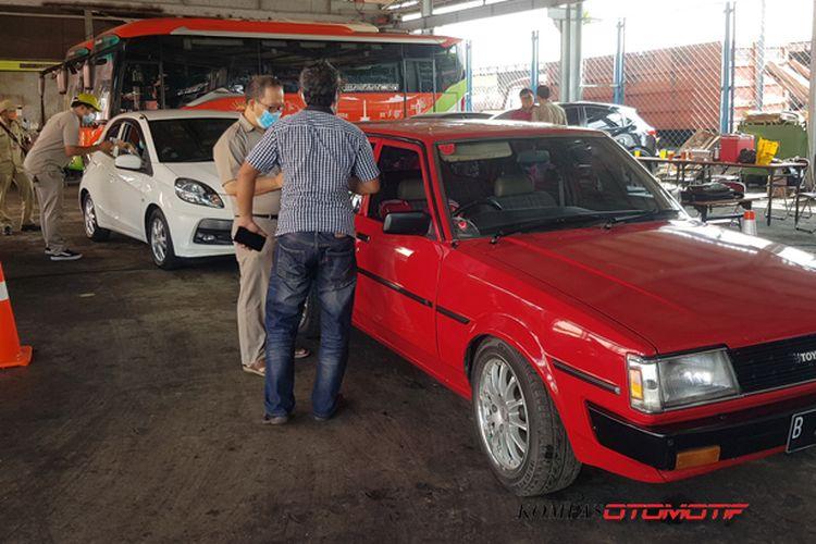 Ilustrasi mobil lawas yang ikut uji emisi di DKI Jakarta