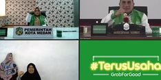 Didukung Grab, Kualitas Hidup Gig Worker Medan Merangkak Naik