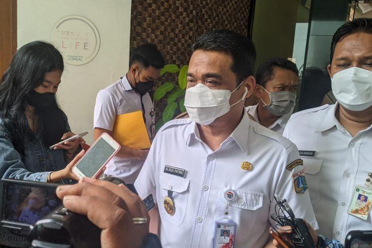 Wakil Gubernur DKI Jakarta Ahmad Riza Patria saat ditemui di SMKN 27 Jakarta Pusat, Rabu (9/6/2021)