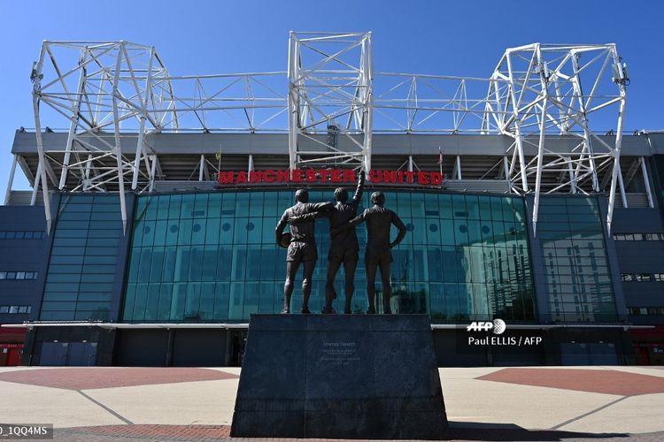 Stadion Old Trafford, markas Manchester United.