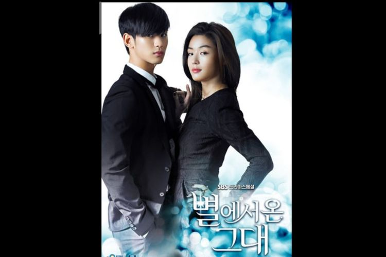 Poster Drama Korea My Love From Star (2013)