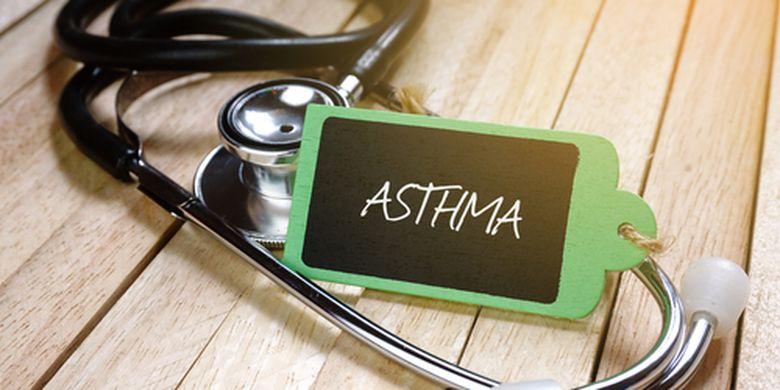 Asma adalah penyakit peradangan kronik saluran napas yang menyebabkan penyempitan saluran napas.