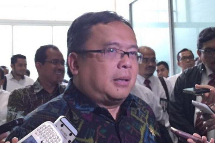 Menteri PPN/ Kepala Bappenas Bambang Brodjonegoro.