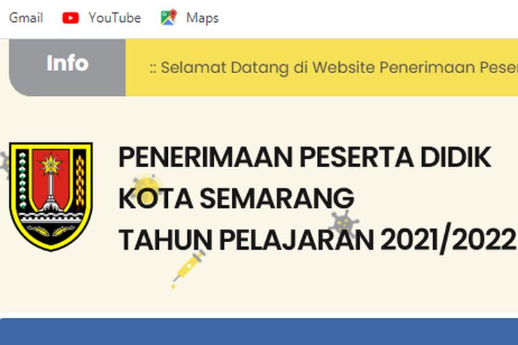 Penerimaan Peserta Didik Baru (PPDB) Kota Semarang jenjang TK, SD dan SMP dibuka bulan Juni 2021.