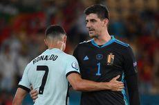 Kata-kata yang Diucapkan Ronaldo ke Courtois Usai Laga Belgia Vs Portugal