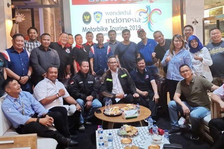Agenda Wonderfull Indonesia Motorbike Touring 2019.