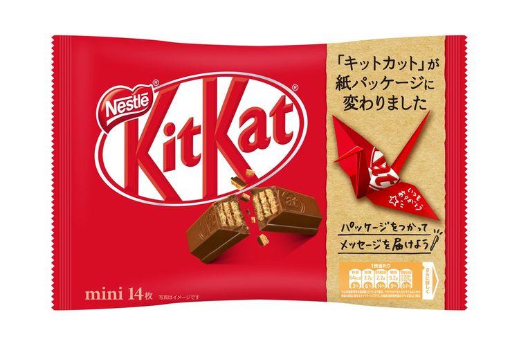 Kemasan baru KitKat Jepang