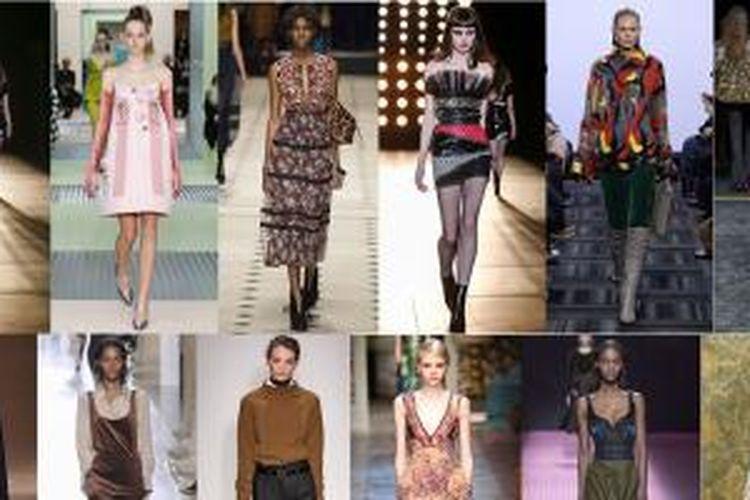 Ttren fashion teranyar dari lansiran rumah mode serta desainer untuk musim gugur terbaru.