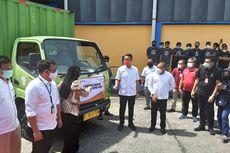 Mensos Juliari Batubara Tutup Bansos Beras untuk PKH