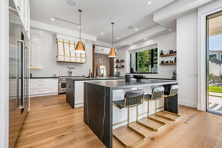 Area rumah Tristan Thompson di Los Angeles yang akan dijual.