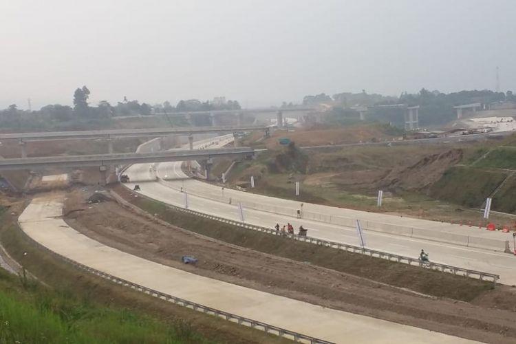 Ruas tol Ciawi-Sukabumi Seksi 1 Ciawi-Cigombong/Lido akan dibuka secara fungsional pada Jumat (8/6/2018).