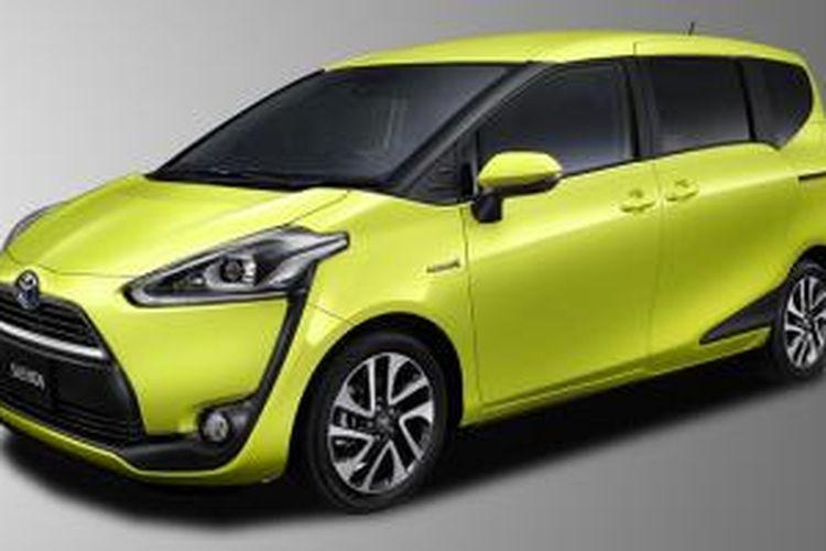 Tampang Toyota Sienta yang sudah meluncur di Jepang, digosipkan masuk Indonesia tahun depan.