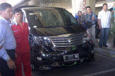 Perusahaan Pemilik Alphard Janji Ganti Kerusakan Bandara Juanda