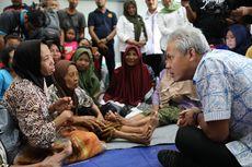 Ganjar Pranowo Pastikan Pengungsi Korban Banjir di Kudus Aman