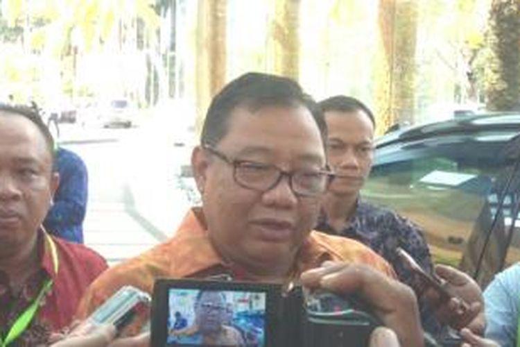 Mentri Koperasi dan UKM, Anak Agung Puspayoga.