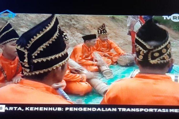 Tangkapan layar Belajar dari Rumah TVRI 14 September 2020 SMP.