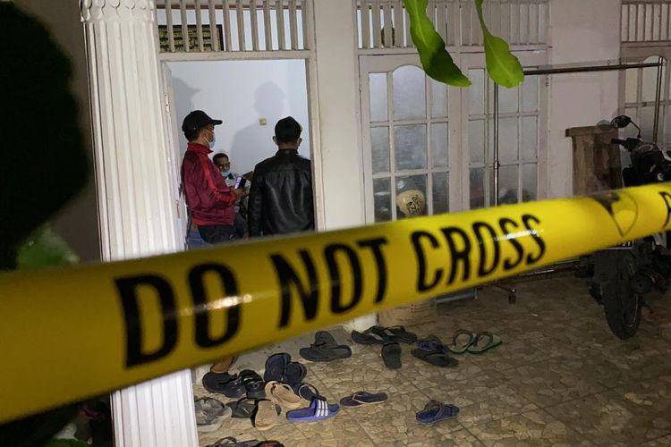 Rumah pelaku ZA di bilangan Ciracas, Jakarta Timur.