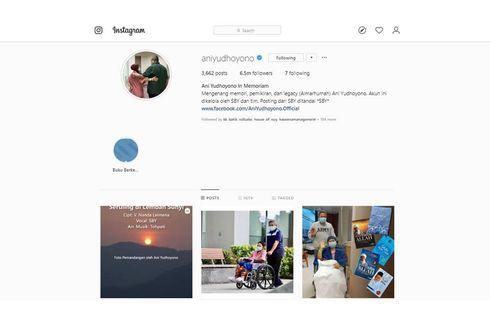 Akun Instagram Ani Yudhoyono Aktif Kembali, Dikelola SBY dan Tim