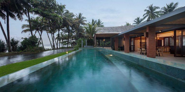 Kolam renang Batu Karas Villa karya Erwin Kusuma
