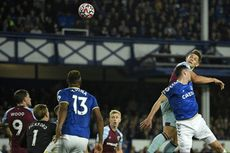 Klasemen Liga Inggris - Everton Gusur Manchester City di 4 Besar