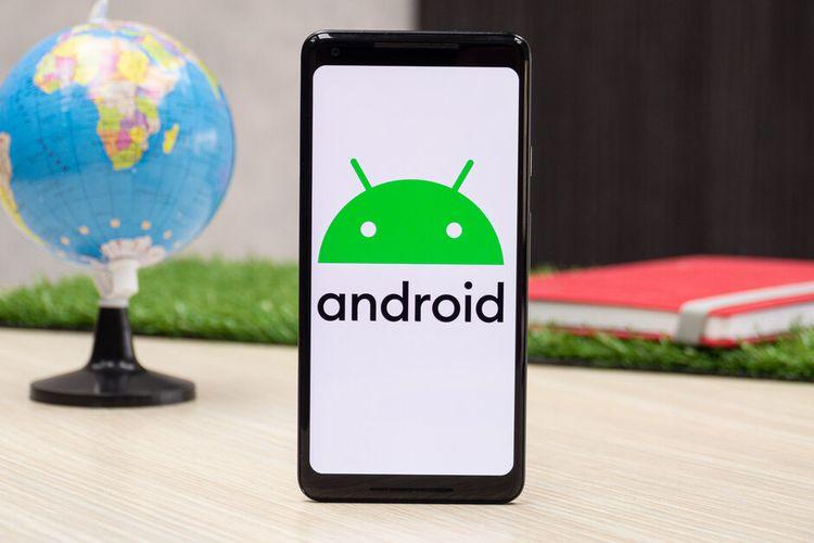 Ilustrasi sistem operasi Android