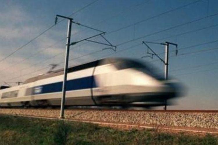 Ilustrasi: Kereta cepat Perancis TGV memiliki kecepatan maksimal 320 kilometer per jam.