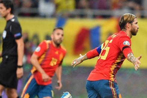 Hadiah Ban Kapten dengan Balutan Emas untuk Sergio Ramos...