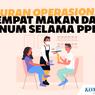 INFOGRAFIK: Aturan Operasional Tempat Makan dan Minum Selama PPKM 7-13 September 2021