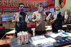 Dua Wanita Selundupkan 2.217 Gram Sabu dalam Kemasan Bedak di Kabin Pesawat dari Medan