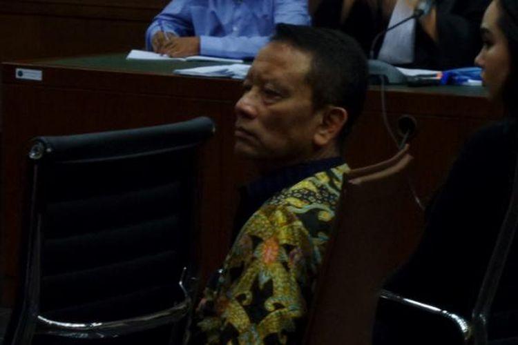 Direktur Jenderal Pajak Ken Dwijugiasteadi di Pengadilan Tipikor Jakarta, Senin (13/3/2017).