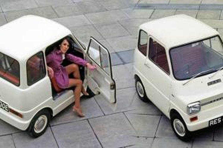 Ford Comuta, konsep mobil listrik tertua milik Ford, pernah diperkenalkan pada 1967.