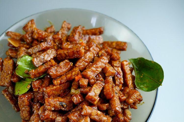 Resep Tempe Orek Kering, Masak Dulu untuk Makan Nasi Kuning Tumpeng