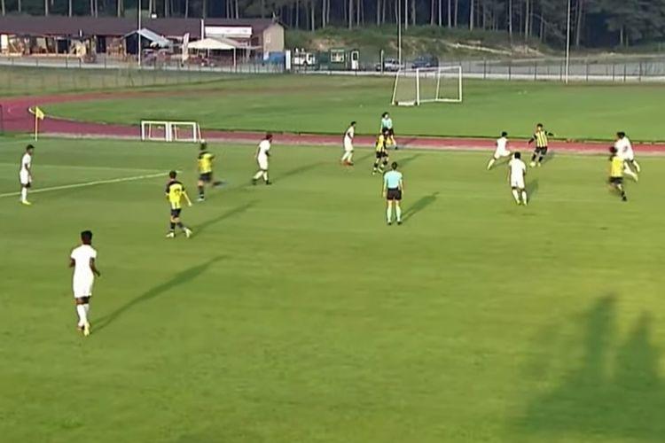 RANS Cilegon FC menghadapi tim U19 Fenerbahce dalam laga uji coba di Turki.