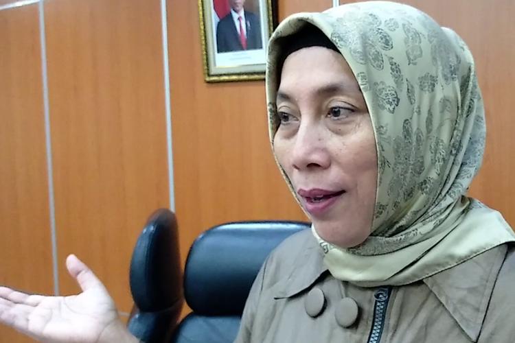 Ketua Komisi D DPRD DKI Jakarta Ida Mahmudah saat ditemui di Gedung DPRD DKI Jakarta, Selasa (5/11/2019)