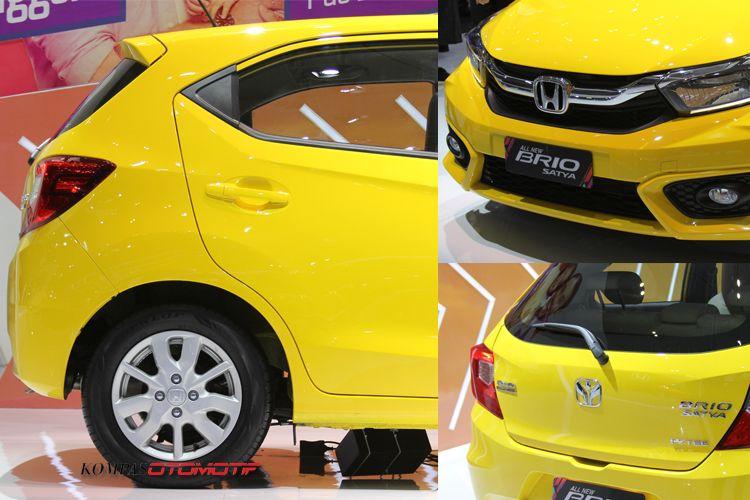 Ubahan desain pada all new Honda Brio