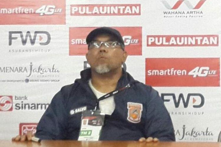 Pelatih Pusamania Borneo FC, Iwan Setiawan.