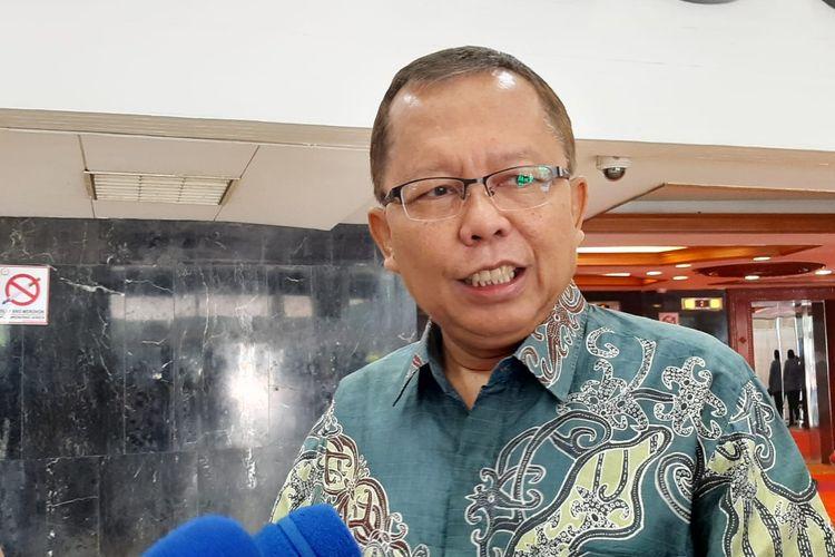 Sekjen PPP Arsul Sani di gedung DPR, Senayan, Jakarta, Selasa (11/2/2020).