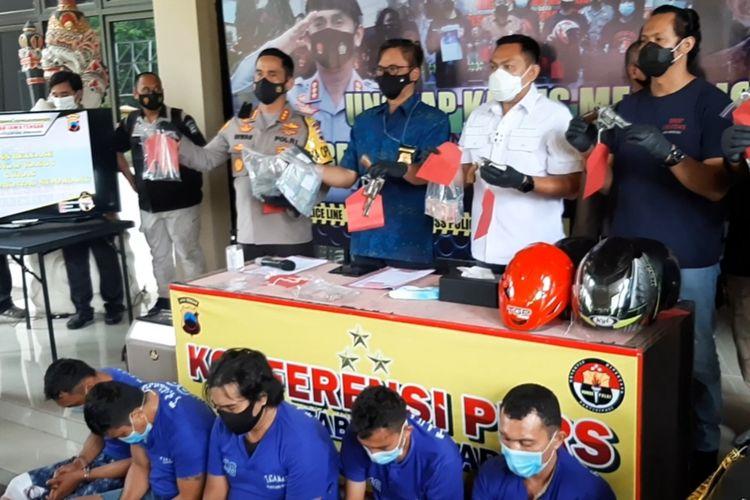 Gelar perkara di Mapolrestabes Semarang, Jumat (22/1/2021).