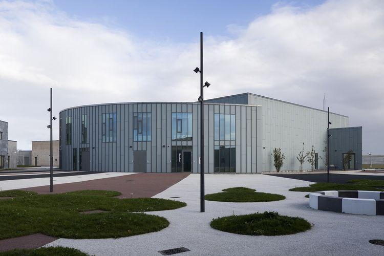 Storstrøm, salah satu penjara yang mengusung desain modern dan ramah lingkungan