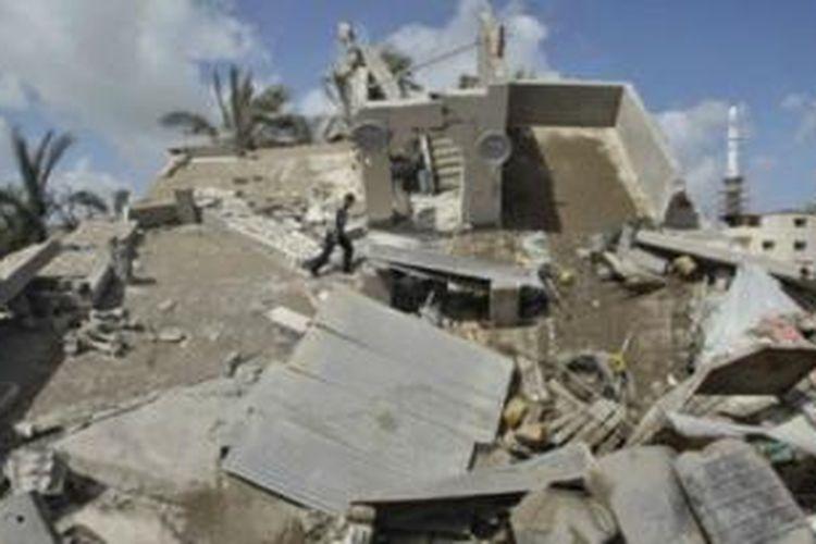 Konflik di Gaza sudah berlangsung lebih dari sepekan