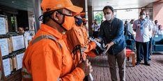 Galakkan #GerakanMaskerKain, Kemenparekraf Gandeng Delamibrands Bagikan 10.000 Masker Kain
